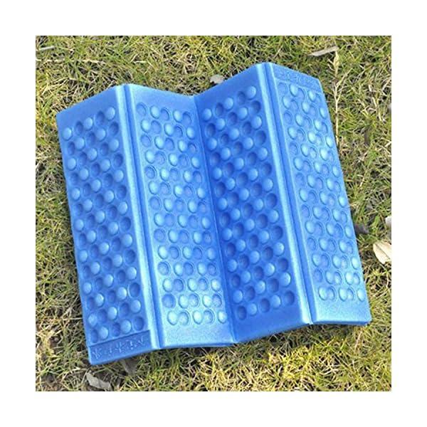 Omeny Outdoor schiuma giardino di campeggio pieghevole sedile impermeabile Pad cuscino per sedia (blu) 5 spesavip