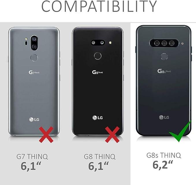 kwmobile Funda con Cuerda Compatible con LG G8s ThinQ: Amazon.es ...