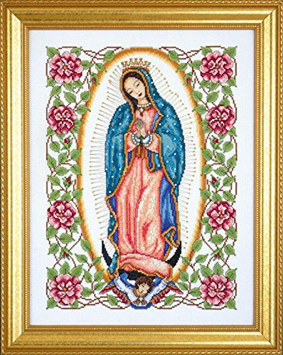 ady of Guadalupe (2323) - Counted Cross Stitch Kit - 13 by 17 inches - with Gift Card ()