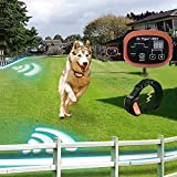 Dr.Tiger 2 Receiver Electric Dog Fence Rechargeable Shock Collar