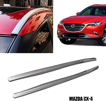 Yeeoy Aluminum Roof Rack Cross Bar Top Luggage Carrier Rack Fit 2017 2018 Mazda CX-5