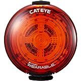 キャットアイ(CAT EYE) セーフティライト SYNC WEARABLE ライト同士がつながり連動する CatEye SYNC対応モデル 自転車以外にも取付可能なウェアラブルセーフィティライト USB充電式 SL-NW100