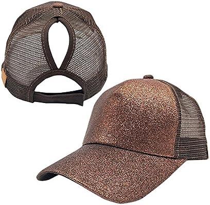 Germany Ponytail Messy High Bun Hat Ponycaps Baseball Cap Adjustable Trucker Cap Mesh Cap