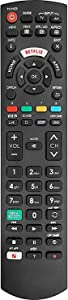 New Replacement Panasonic TV Remote Control Fit for All Panasonic LCD 4K Ultra HD HDR Smart TV with Netflix, My APP, Home Buttons - No Setup Required TV Universal Remote Control