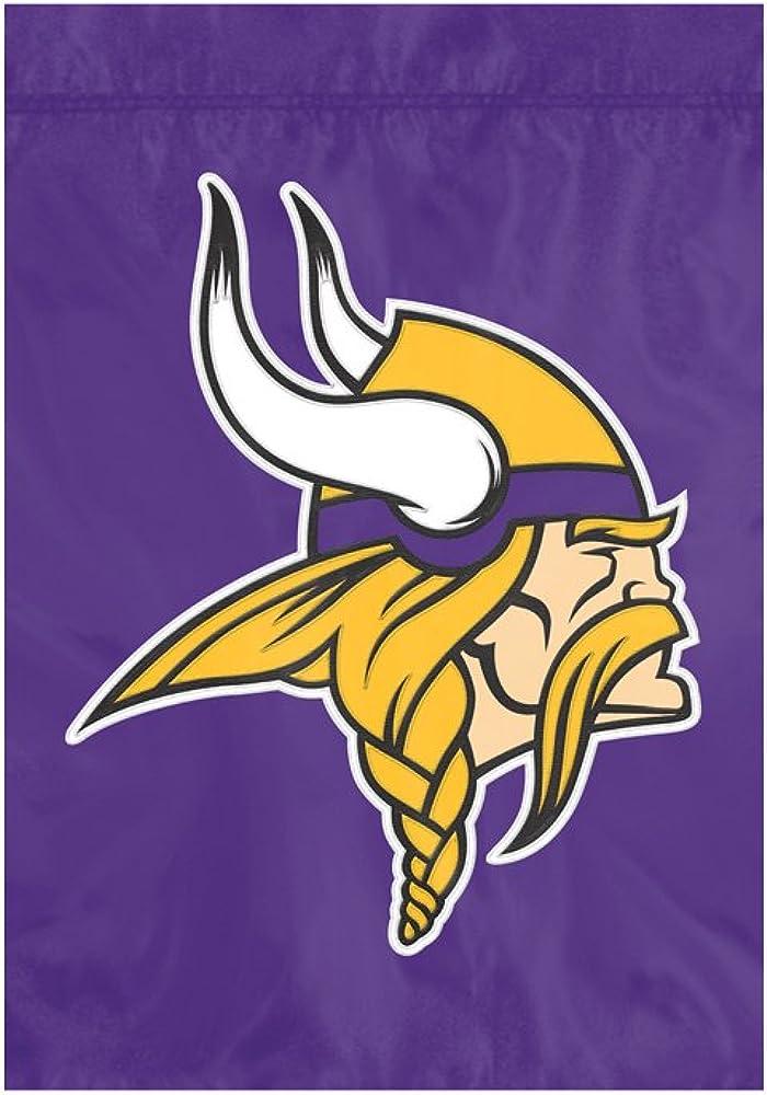 NFL Minnesota Vikings NFL Garden Flag, Purple, 18