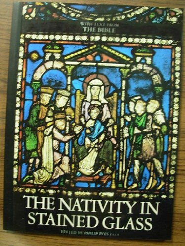Nativity In Stained Glass With Text From The ()
