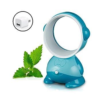 YAN Blattloser Ventilator, Baby Ventilator  USB Miniluftkühlungs Conditioner Sommer Handkühlventilator