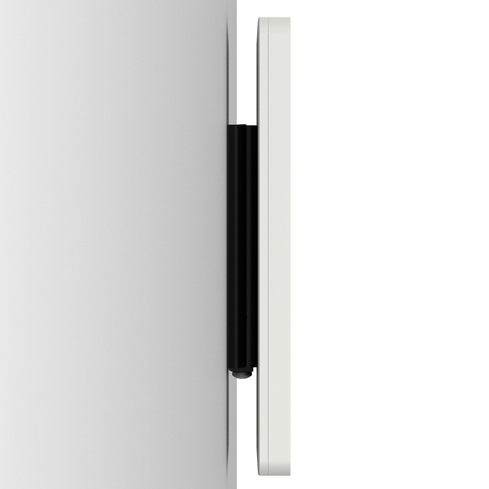 iPad (5th Gen) 9.7/Pro, Air 1/2 White Home Button Covered Fixed Slim VESA Wall Mount [Bundle] by VidaBox Kiosks (Image #3)