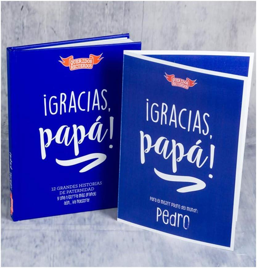 Libro '¡Gracias, papá! con Tarjeta Personalizada, un