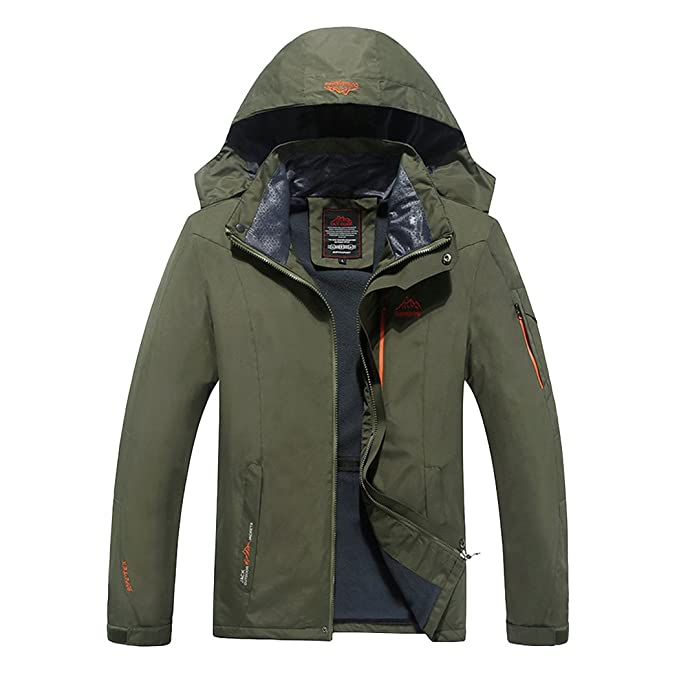 Amazon.com: Moderno Fantasía Mountain – Chaqueta de esquí ...