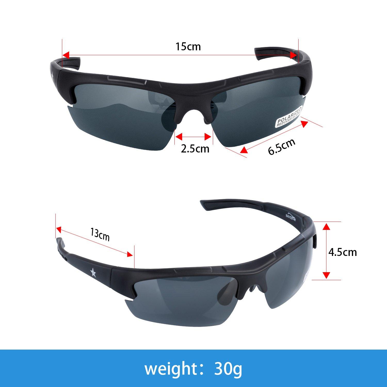 aed48664c0 Los anteojos de sol polarizados Navestar tienen revestimiento protector  UV400 que bloquea los efectos de los rayos solares sobre tu visión.