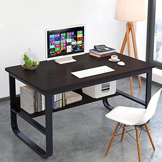 Ncloyn Mesa De Oficina Moderno Mesa De Ordenador,Mesa Pc Mesa De ...