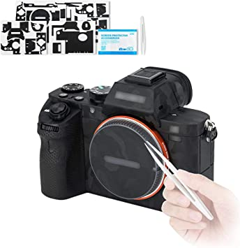 Tapa del objetivo Kit Protector de pantalla para Sony A7II A7III A7SII A7RII A77II A99 A9 2 un