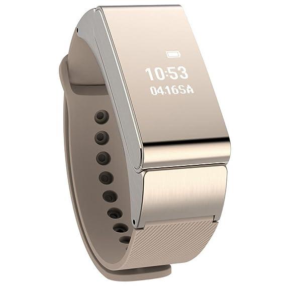Lolittas Reloj inteligente de pulsera con auricular bluetooth, para teléfono móvil iOS o Android: Amazon.es: Relojes