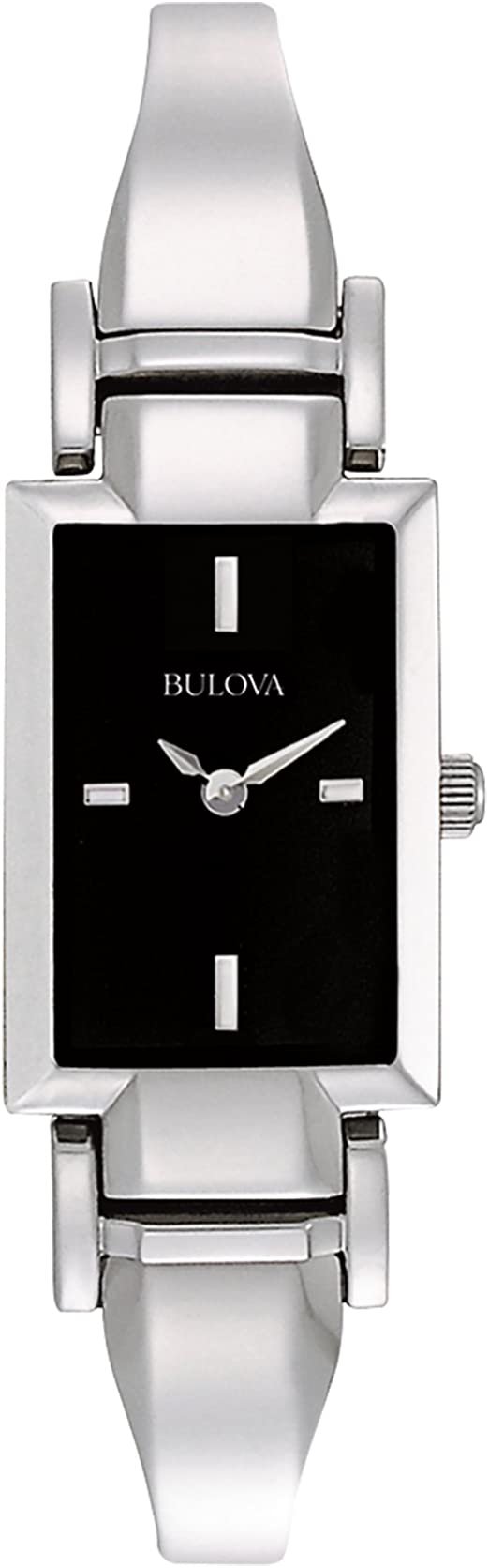 enfocar Antecedente implicar  Amazon.com: Bulova 96L138 Reloj de pulsera de acero inoxidable para mujer:  Bulova: Watches