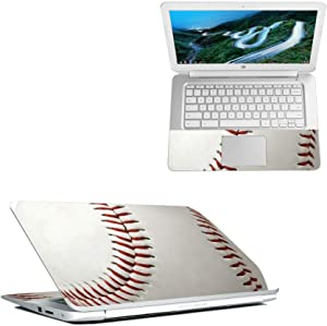 "MightySkins Skin Compatible with HP Chromebook 14"" (2018) - Baseball 