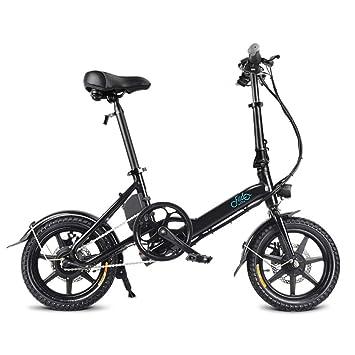 Pliegues Bicicleta eléctrica, La bicicleta urbana, Llanta de 14 ...