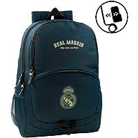 Real Madrid CF-611934665 Equipaje Infantil, Color Azul (SAFTA
