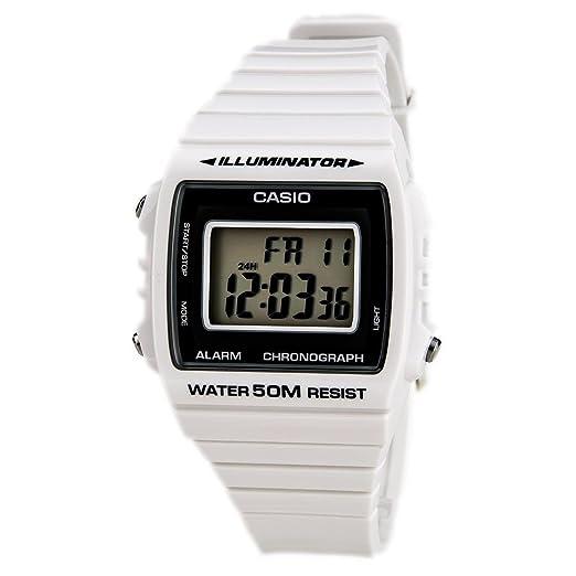 dfd07a1f1882 Casio Reloj Digital para Unisex de Cuarzo con Correa en Resina  W-215H-7AVEF  Amazon.es  Relojes