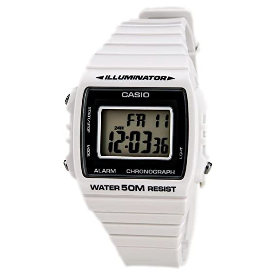 Casio Reloj Digital para Unisex de Cuarzo con Correa en Resina  W-215H-7AVEF  Amazon.es  Relojes 9b2dac5618b9