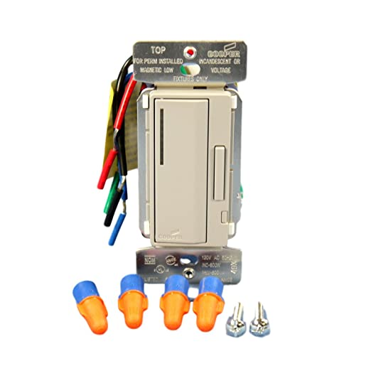 Remarkable Cooper Wiring Devices Aim06 Gy Smart Dimmer Inc Mlv 600W 120V Gy Wiring 101 Akebretraxxcnl