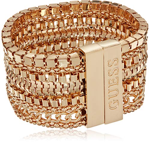 GUESS Women's Hot in The City Bracelet, Gold - Guess Gold Bracelet Jewelry