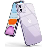 Deals on Ringke Fusion Clear Shockproof Cover for iPhone 11 /11 Pro