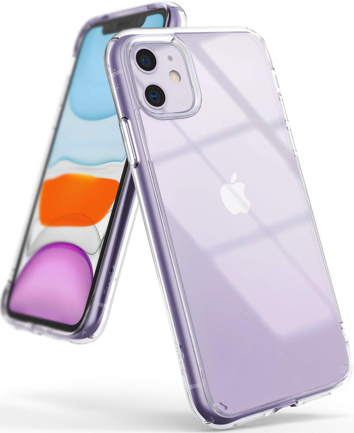 Ringke Fusion Designed for iPhone 11 Case (2019) , Clear