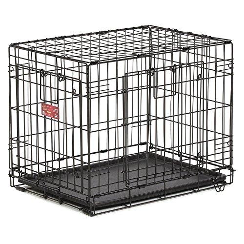 Midwest ace double door dog crate new ebay for Double door with dog door