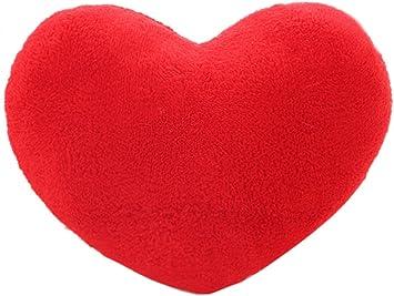 Amazon.com: Coxeer cojines forma de corazón decorativo ...