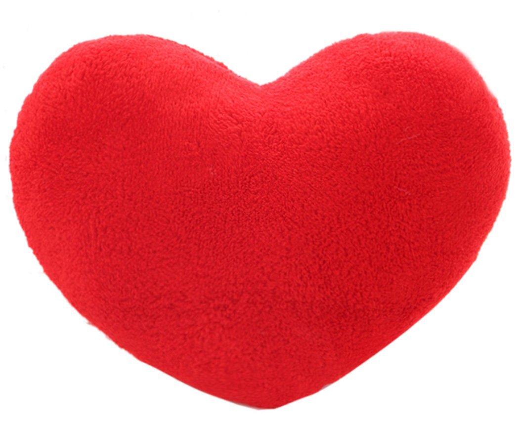 Coxeer 15 X 12 Inch Throw Pillows Heart Shape Pillow Soft Pillow with Cushion COMINHKR090541