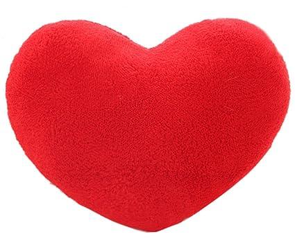amazon com coxeer 15 x 12 inch throw pillows heart shape pillow