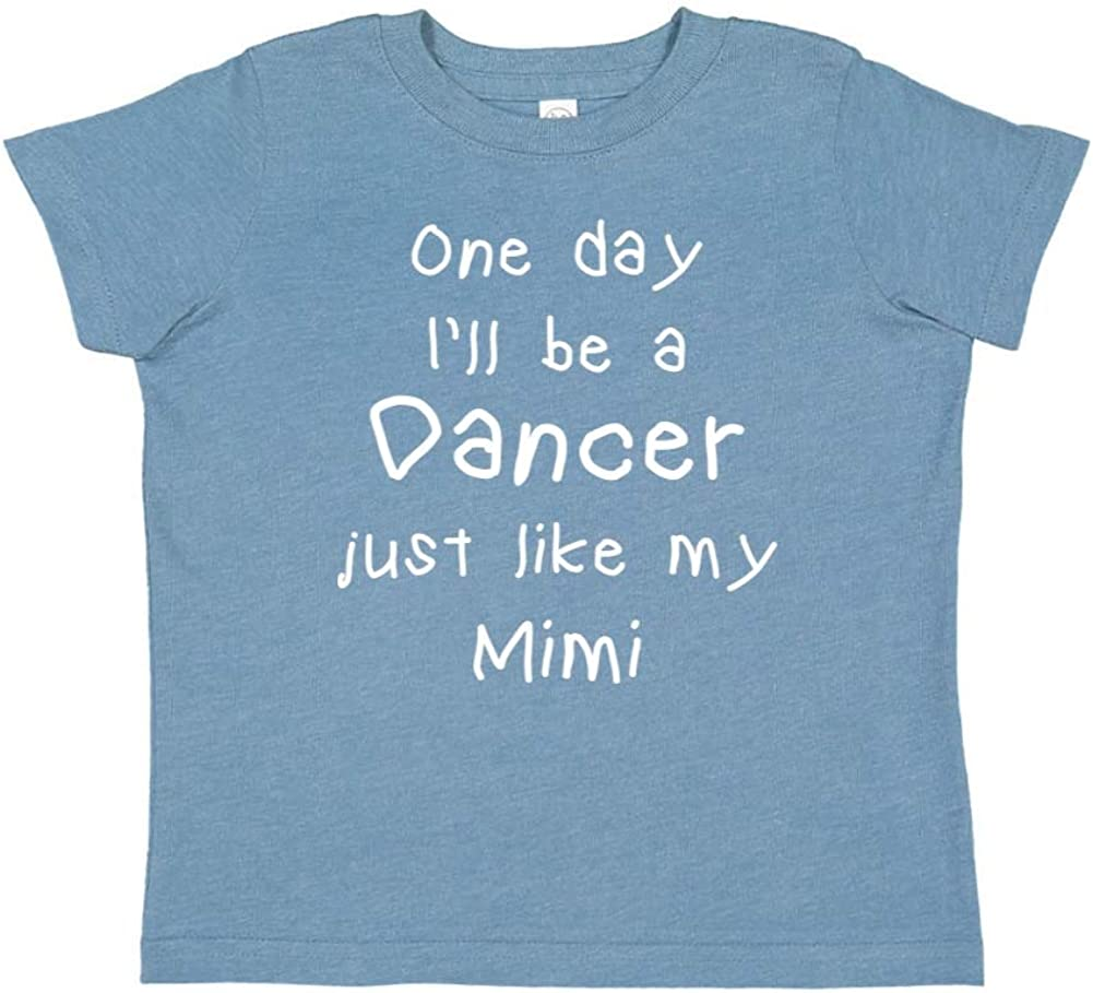 One Day Ill Be A Dancer Just Like My Mimi Toddler//Kids Short Sleeve T-Shirt