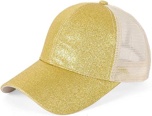 Sombrero de lentejuelas femeninas gorra de béisbol Europa y ...