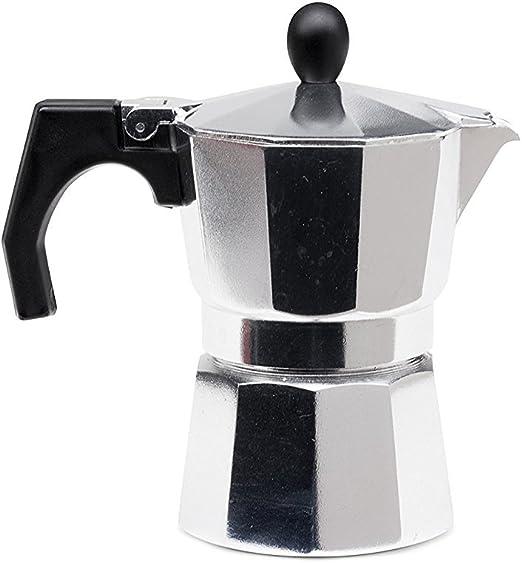 Tivoli Moka cafetera/de Aluminio/Apto para 3 Tazas de café ...