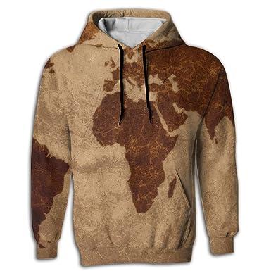 Retro 50 world map mens all over print sweatshirt pullover hoodie retro 50 world map mans 3d printed sweatshirt pullover hoodie fricstar gumiabroncs Images