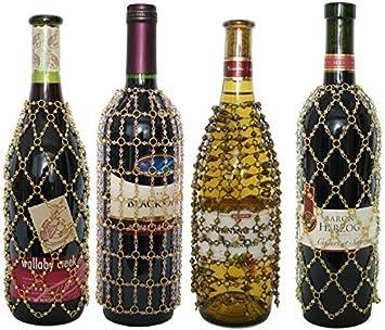 Wine//Champagne beaded bottle stopper
