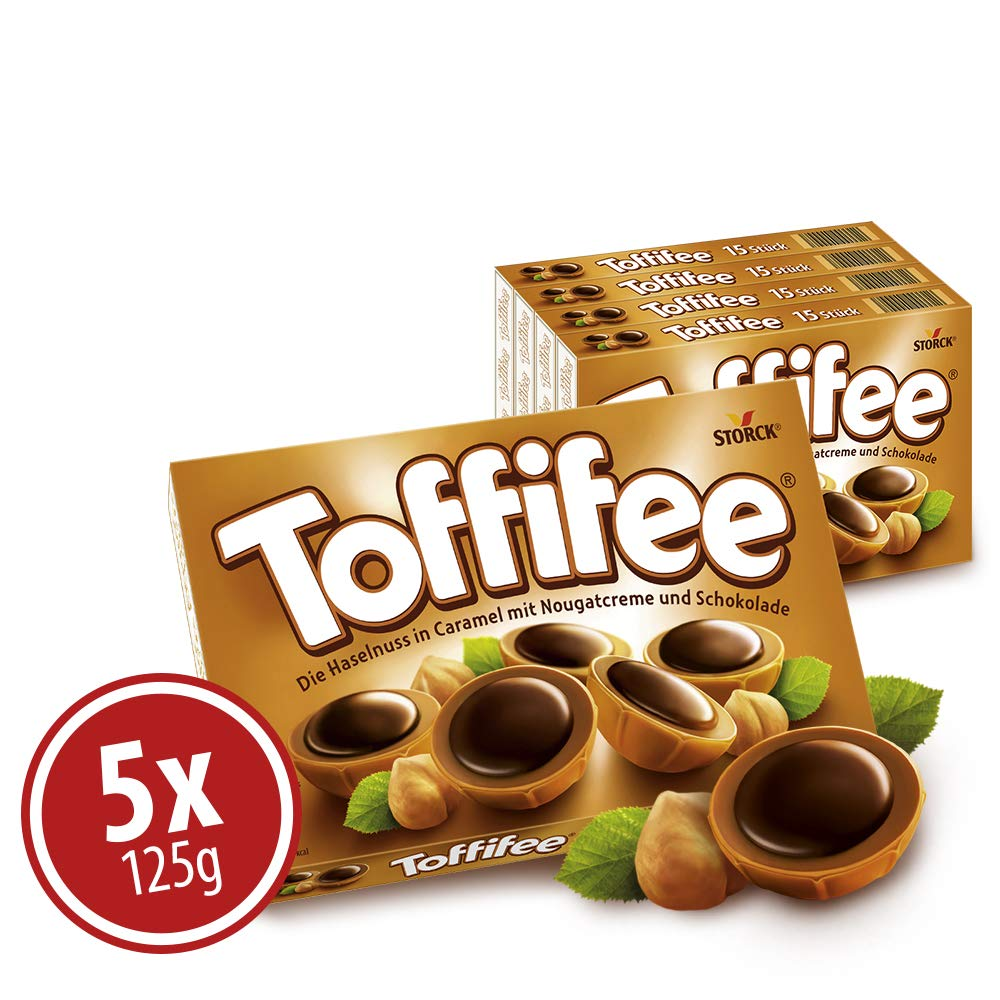 Storck Toffifee Candy 125 G (Pack of 10) by Toffifee