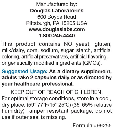 Douglas Laboratories Alpha GPC Supports Neurological Health* 60 Capsules