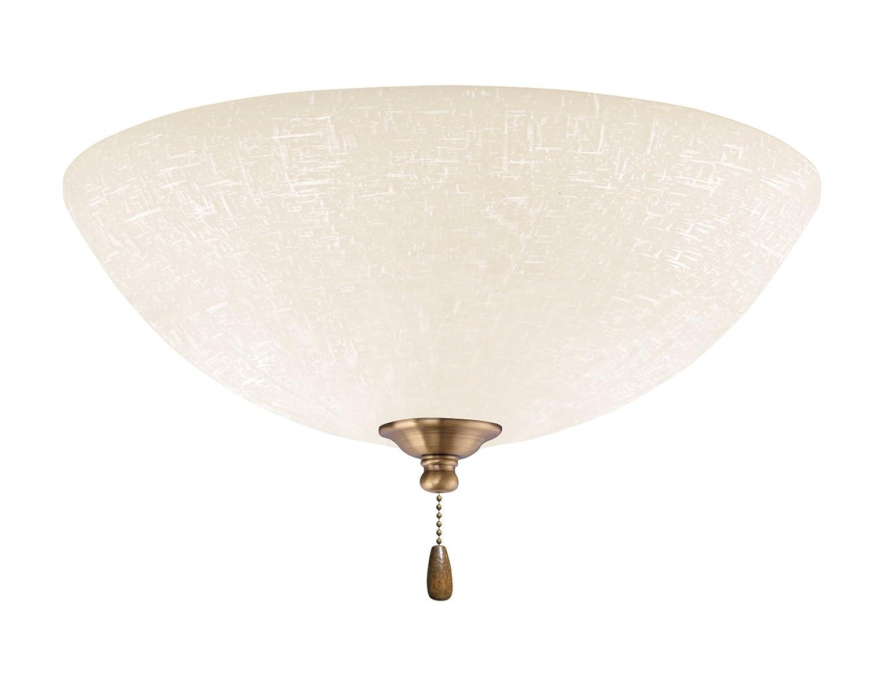 Emerson Ceiling Fans LK83LEDAB White Linen LED Light Fixture for Ceiling Fans LED Array