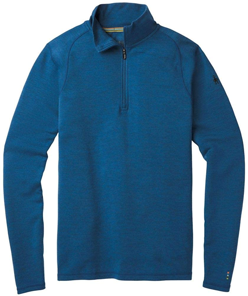 Smartwool Men's Base Layer Top - Merino 250 Wool Active 1/4 Zip Outerwear
