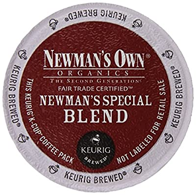 Newman's Own Organics Special Blend Extra Bold K-cups 80 Count.