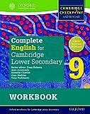 Complete English for Cambridge Sec 1 WB 9 (Cie Igcse Complete)