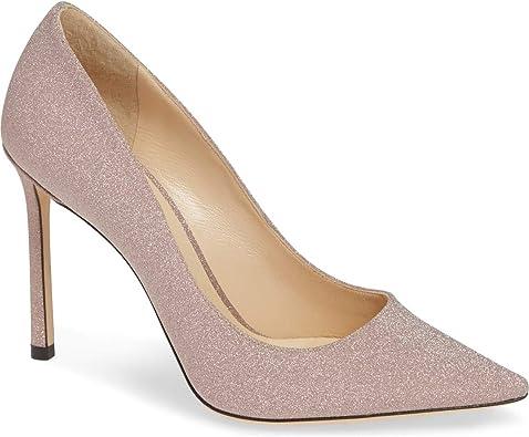 JIMMY CHOO Romy Glitter Pump Shoes