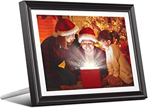 Dragon Touch 10 inch Wi-Fi Digital Picture Frame Classic 10, Touch Screen HD Display, 16GB Storage, Auto-Rotate, Share Photos with Friends via App, Email, Cloud (10 INCH, Black: 1920x1200)