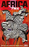 TWA - Africa (artist: David Klein ) USA c. 1955 - Vintage Poster (24x36 SIGNED Print Master Giclee Print w/ Certificate of Authenticity - Wall Decor Travel Poster)