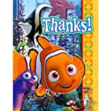 Finding Nemo 'Ocean Fun' Thank You Notes w/ Envelopes (8ct)