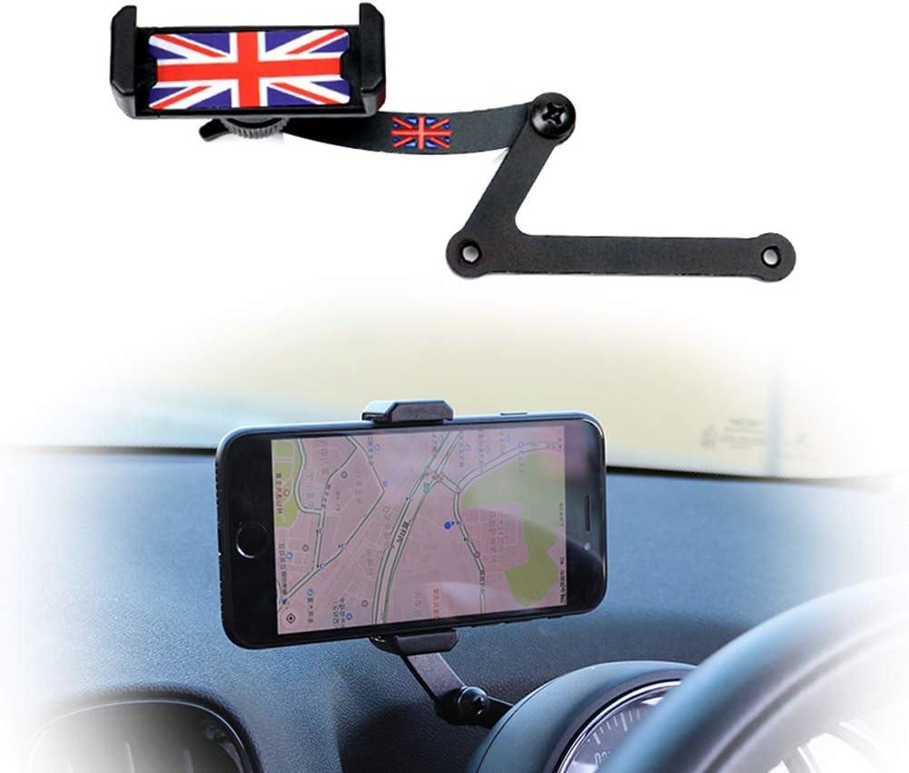 PGONE Behind Tachometer Mount Smart Phone GPS Mounting Design Holder Kit for Mini CooperF54 F55 F56 F57 Union Jack Black /& Grey Union Jack Flag Style