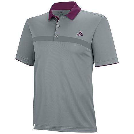 adidas Golf Mens Climacool Engineered Print Polo: Amazon.es ...