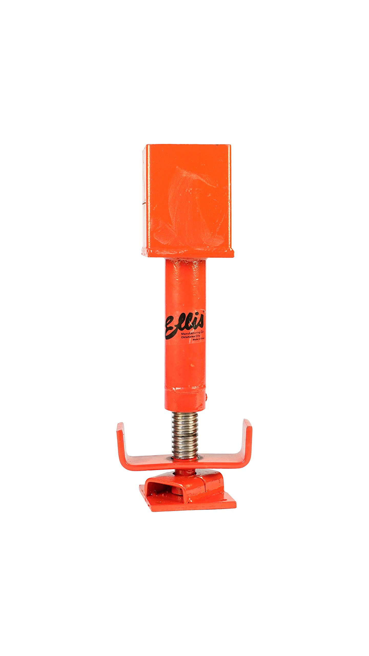 Ellis Manufacturing Company 4x4 Screw Jack - Adjustable Support - Safe Load Capacity (15,000 lbs) - Painted Finish by ELLIS